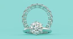 Tiffany-style ring